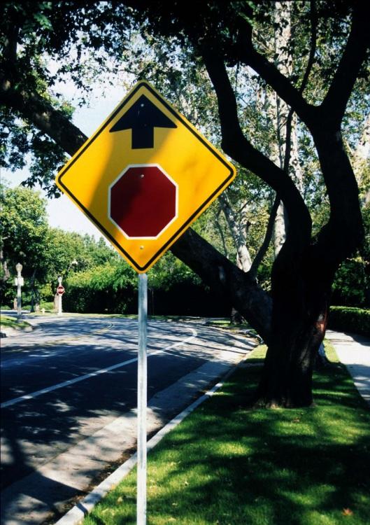 Pasadena Stop Sign