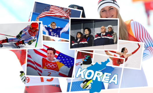 Winter Olympics 2018 Collage