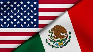 Mexico+USA Flags1